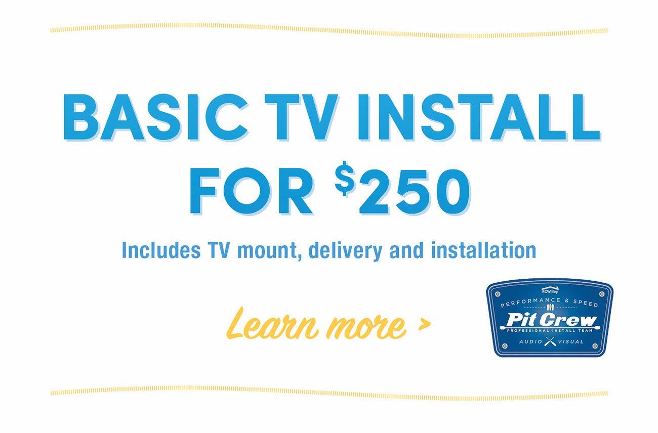 Tv-installation