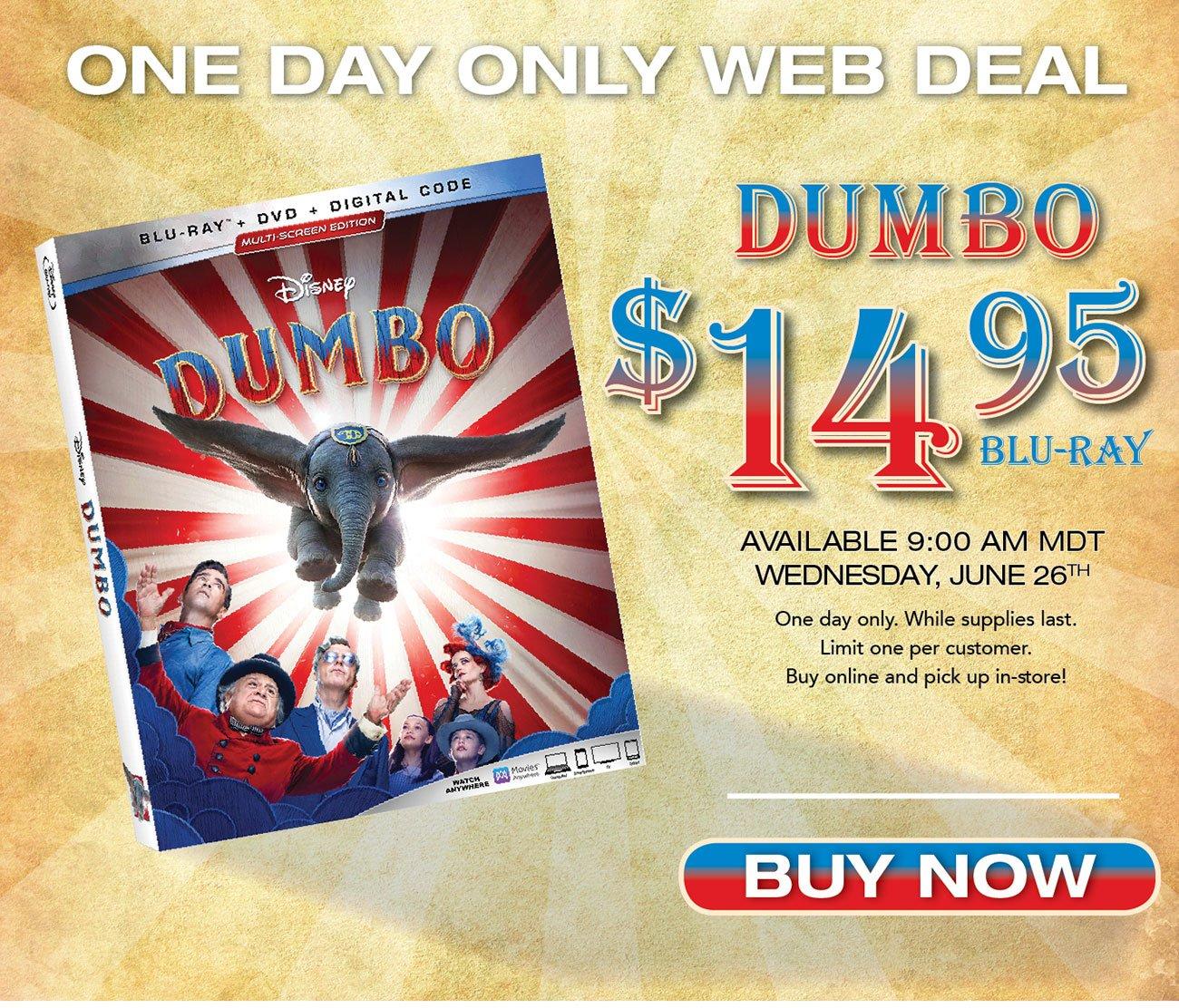 Dumbo-Blu-ray