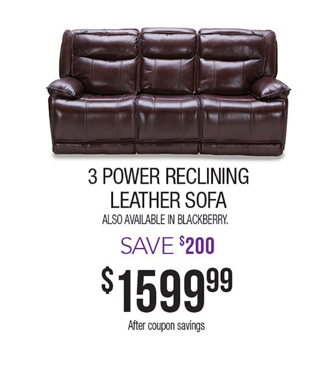 Burgundy-Power-Reclining-Leather-Sofa