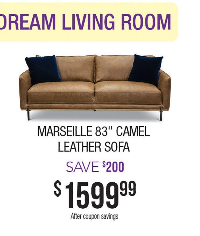 Marseille-Camel-Leather-Sofa