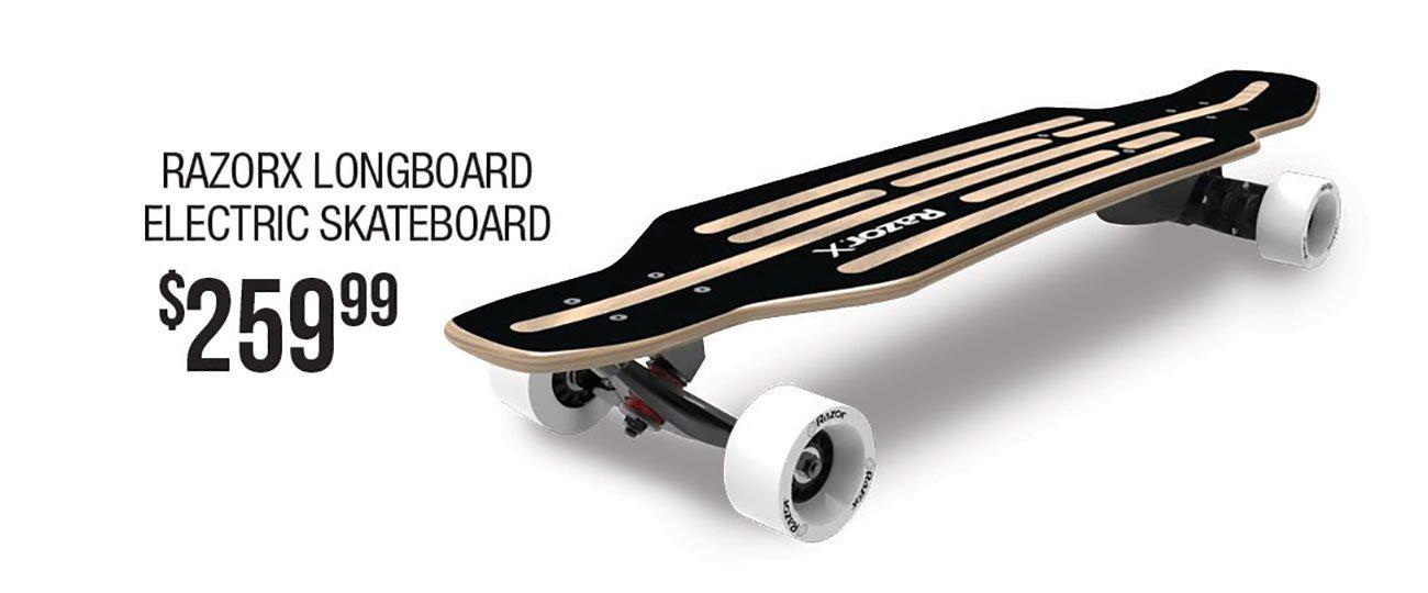 RazorX-Longboard-Electric-Skateboard