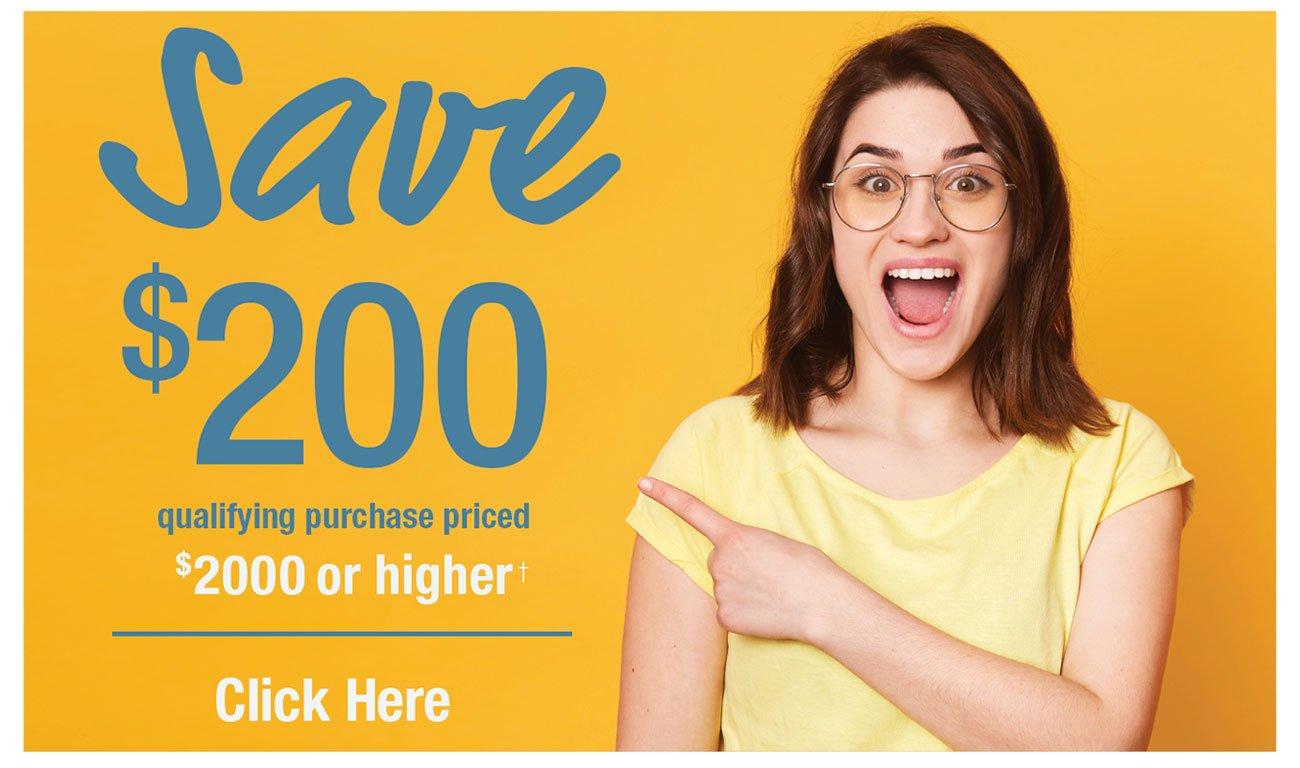 Save 200
