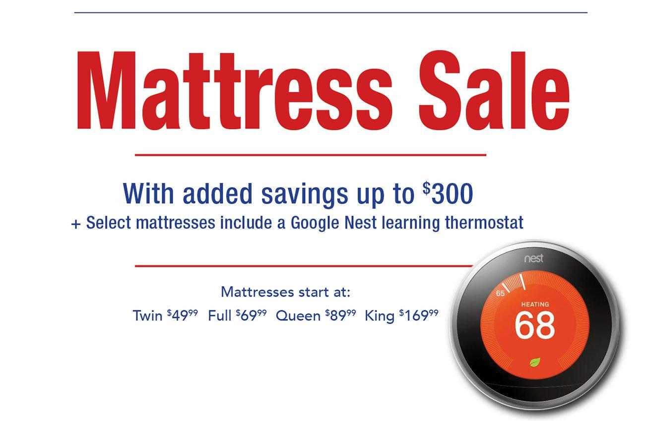 Shop-mattresses