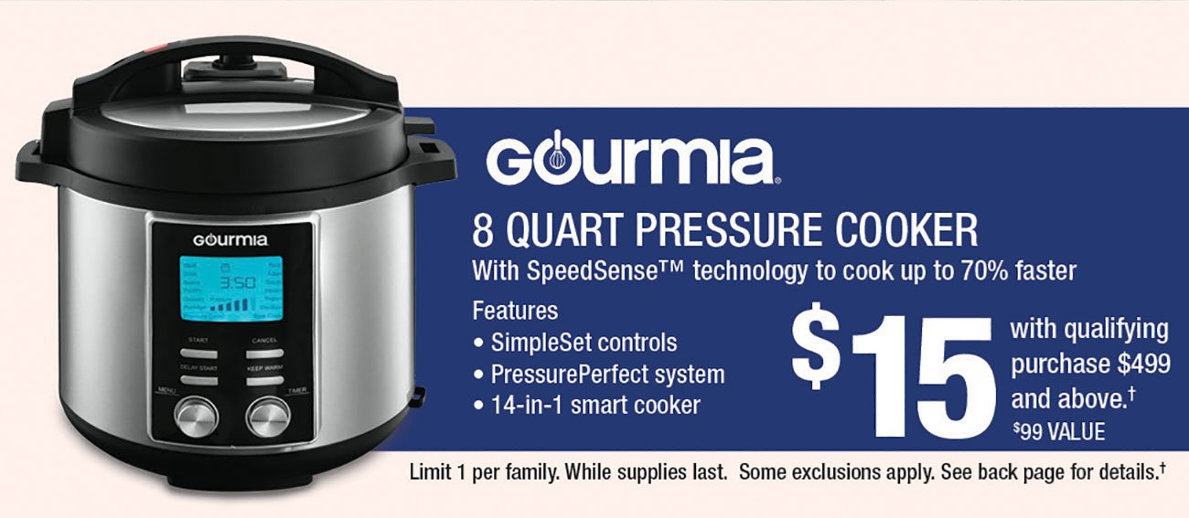 Gourmia-Pressure-Cooker