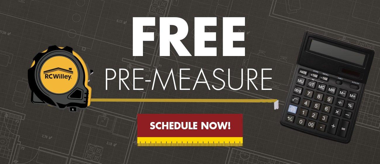 Free pre-measure. Schedule Now