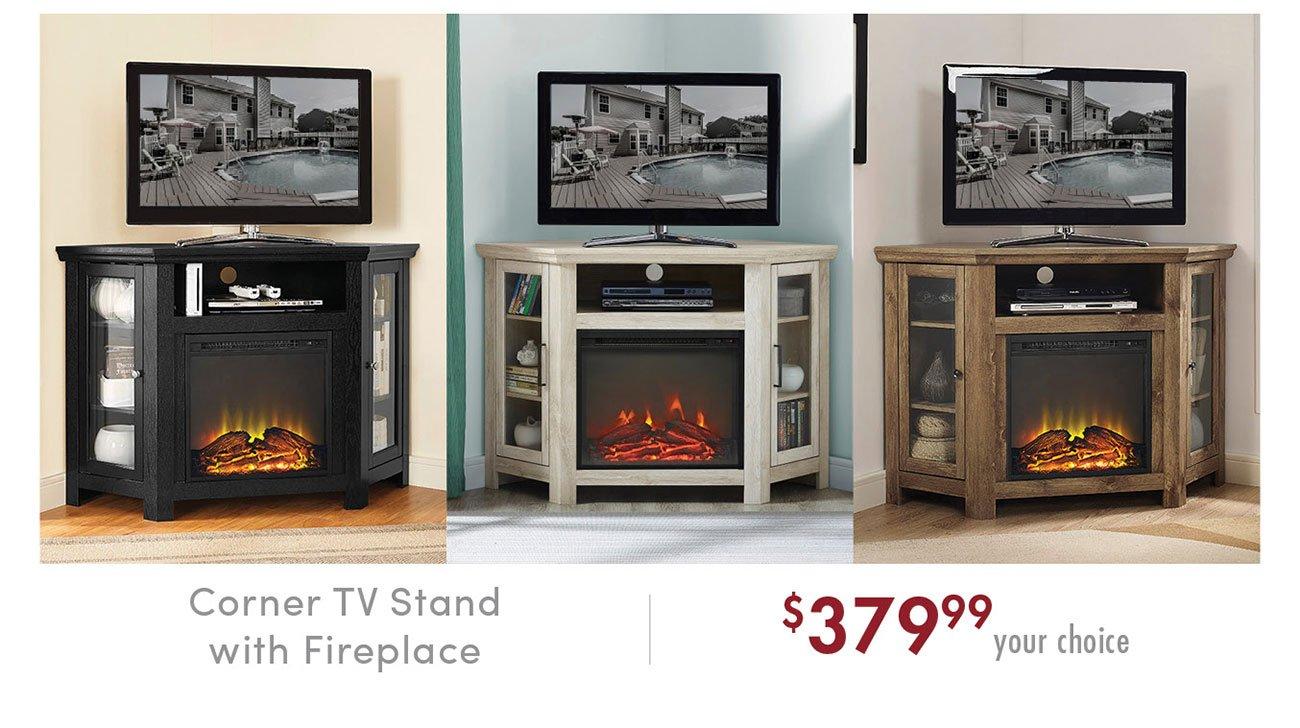 Corner-fireplace-tv-stand