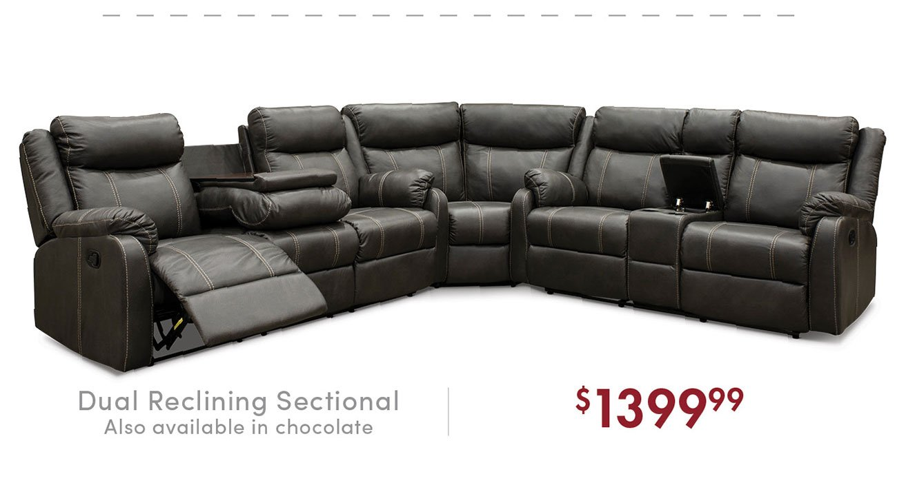 Dual-reclining-sectional