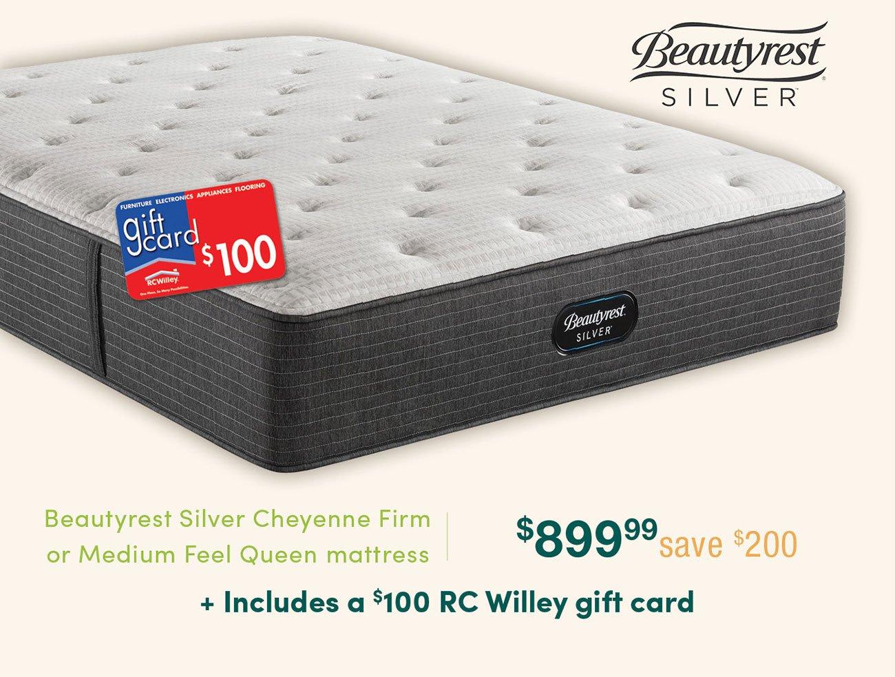 Beautyrest-silver-queen-mattress