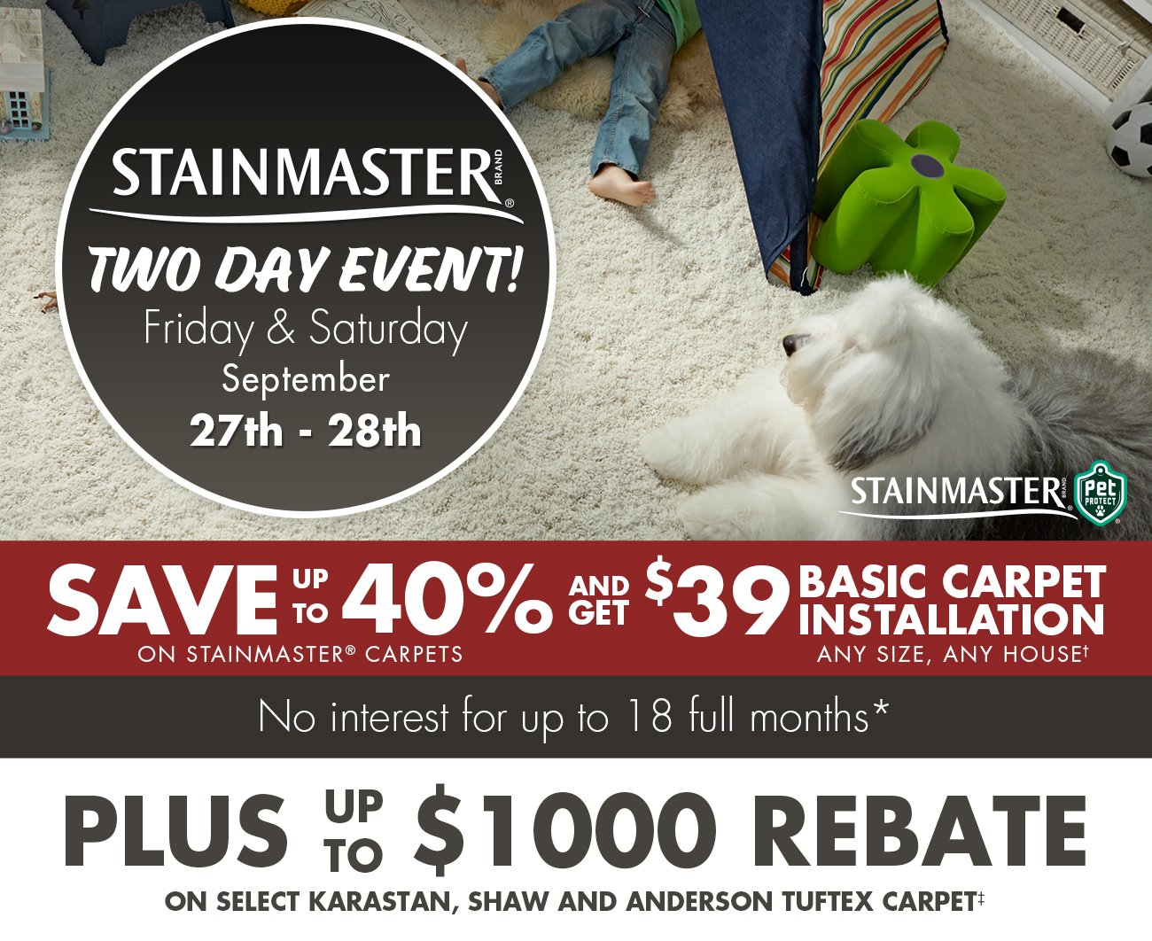 Stainmaster Event