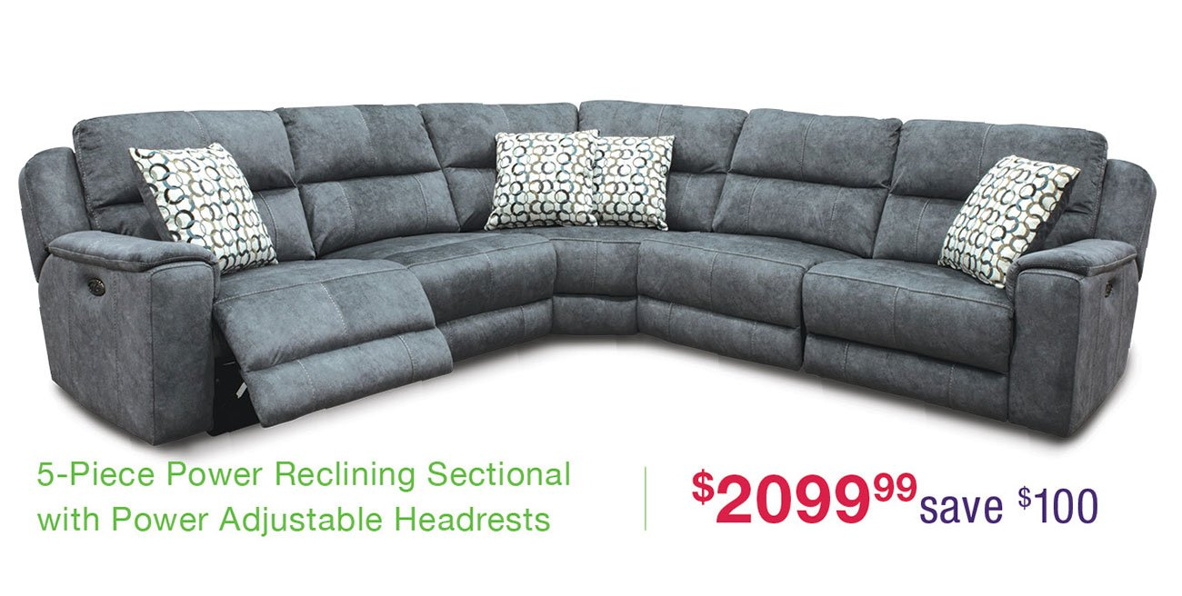 Imprint-reclining-sectional