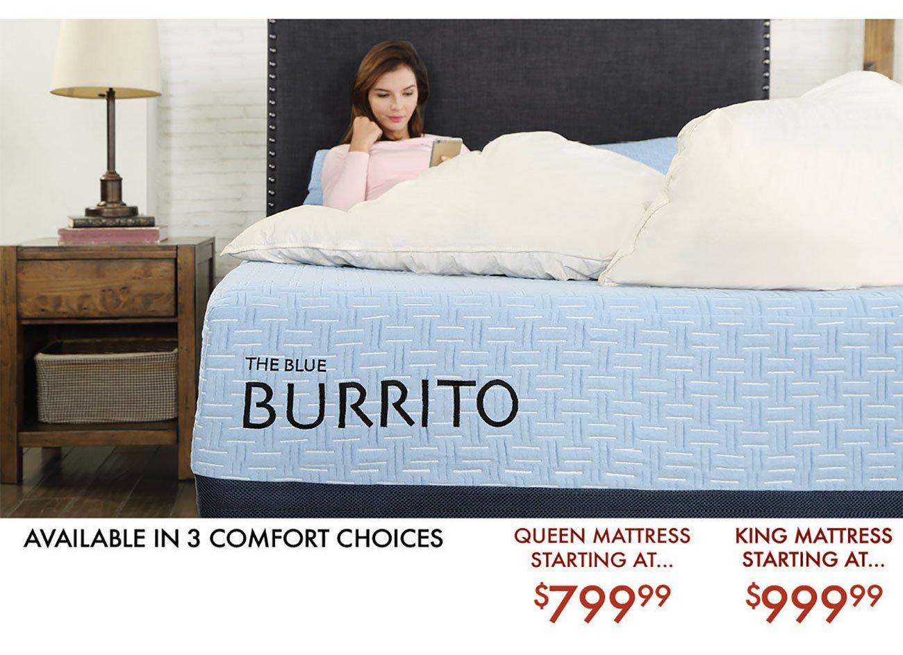 Blue-Burrito-Mattess-Options