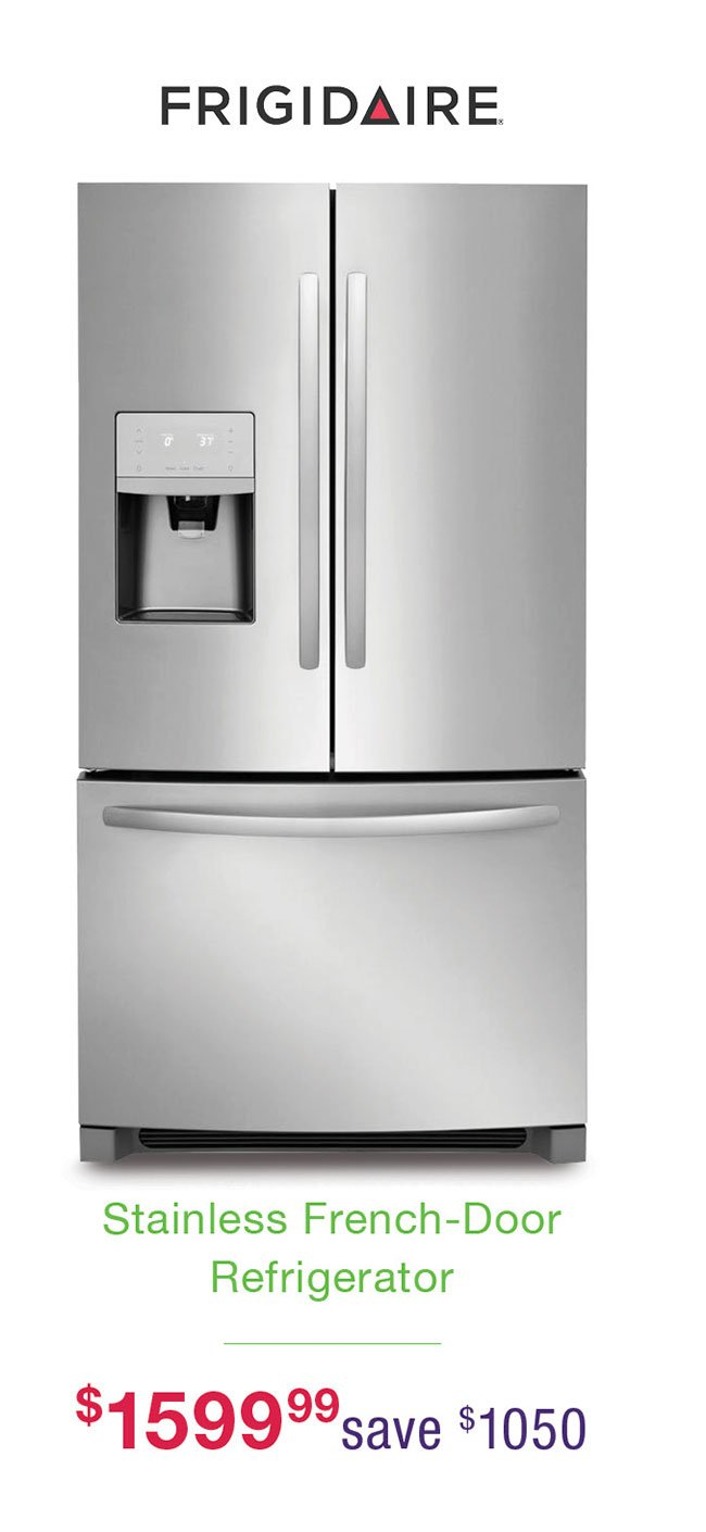 Frigidaire-stainless-french-door-refrigerator