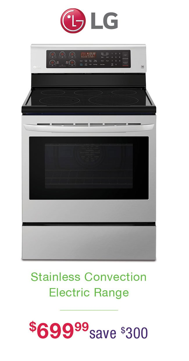 Lg-stainless-electric-range