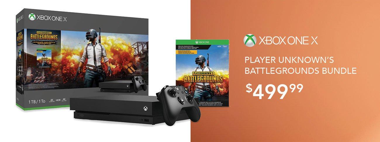 Xbox-one-X-Battlegrounds-bundle