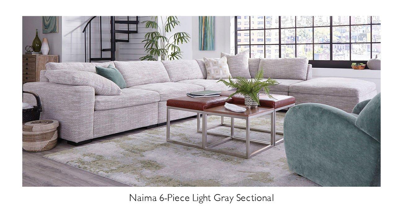 Maima-Light-gray-sectional