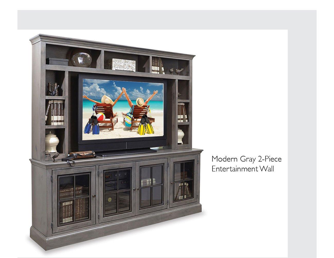 Modern-gray-entertainment-wall