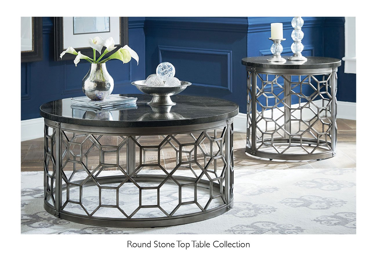 Round-stone-top-table-collection