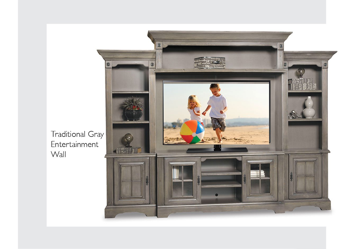 traditional-gray-entertainment-wall