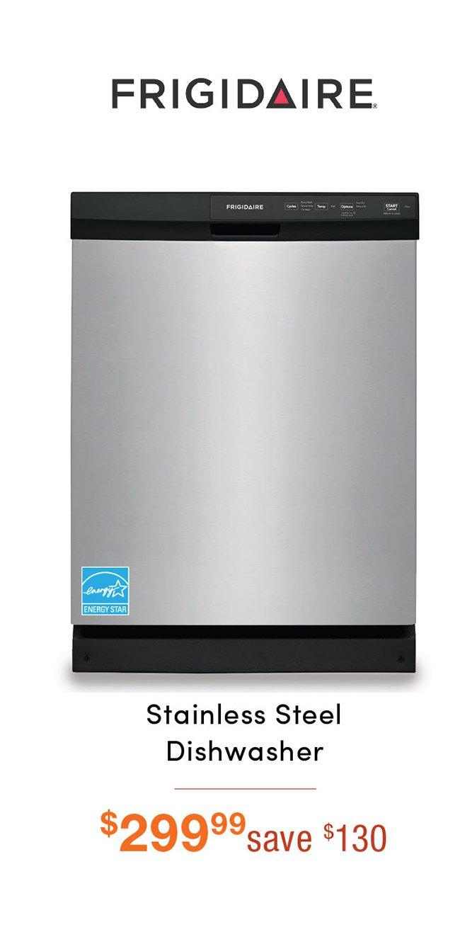Frigidaire-stainless-dishwasher