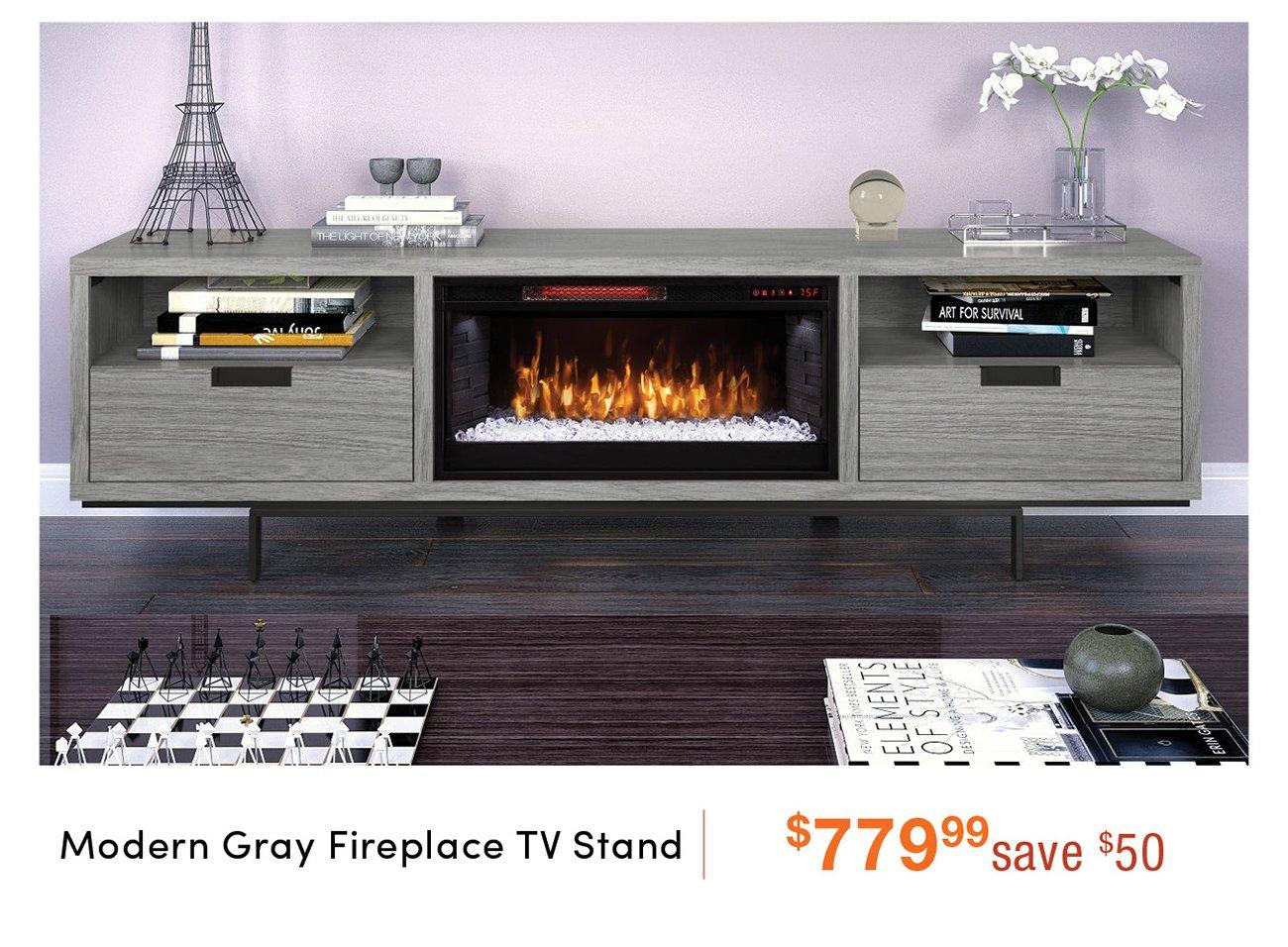 Modern-fireplace-tv-stand