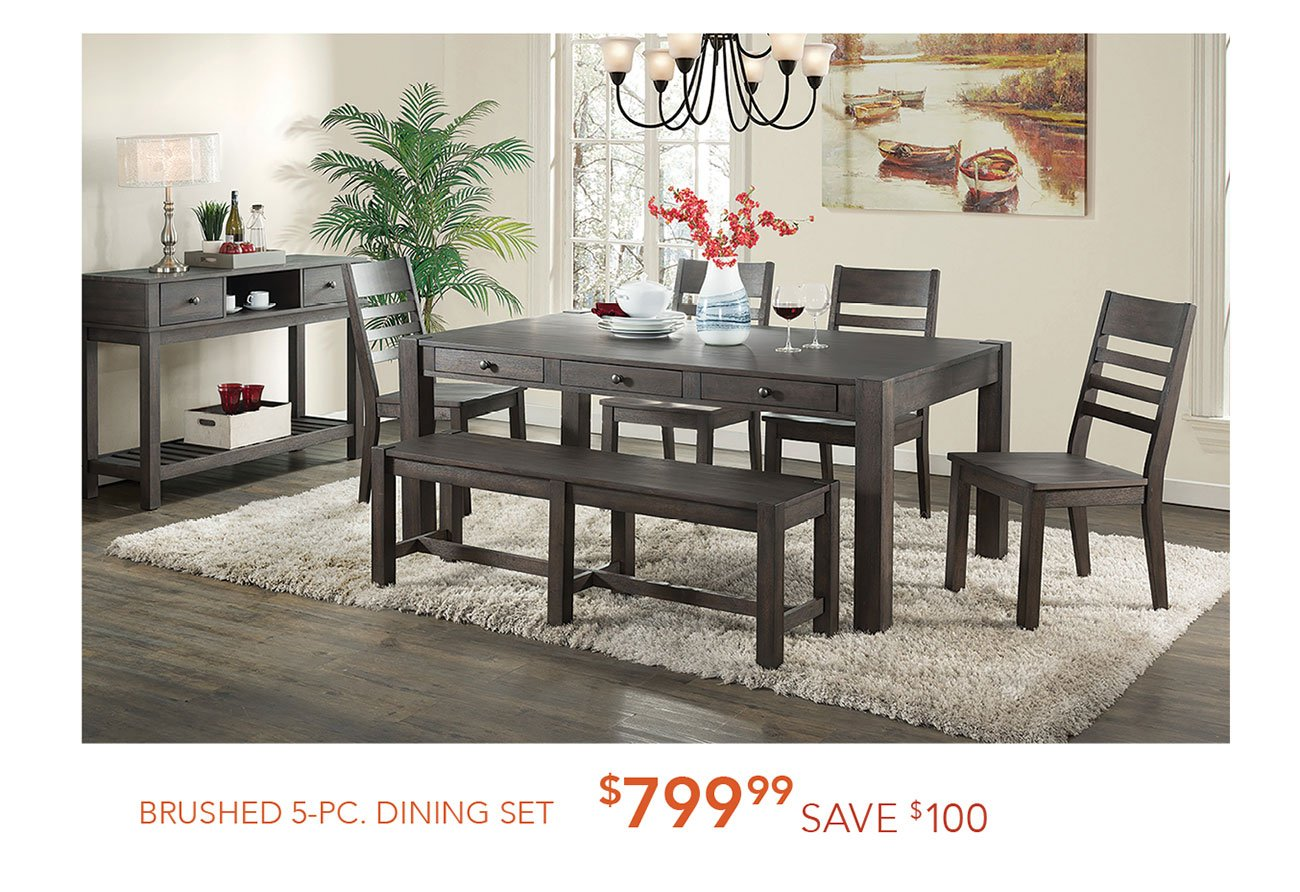 Brushed-5-pc-dining-set