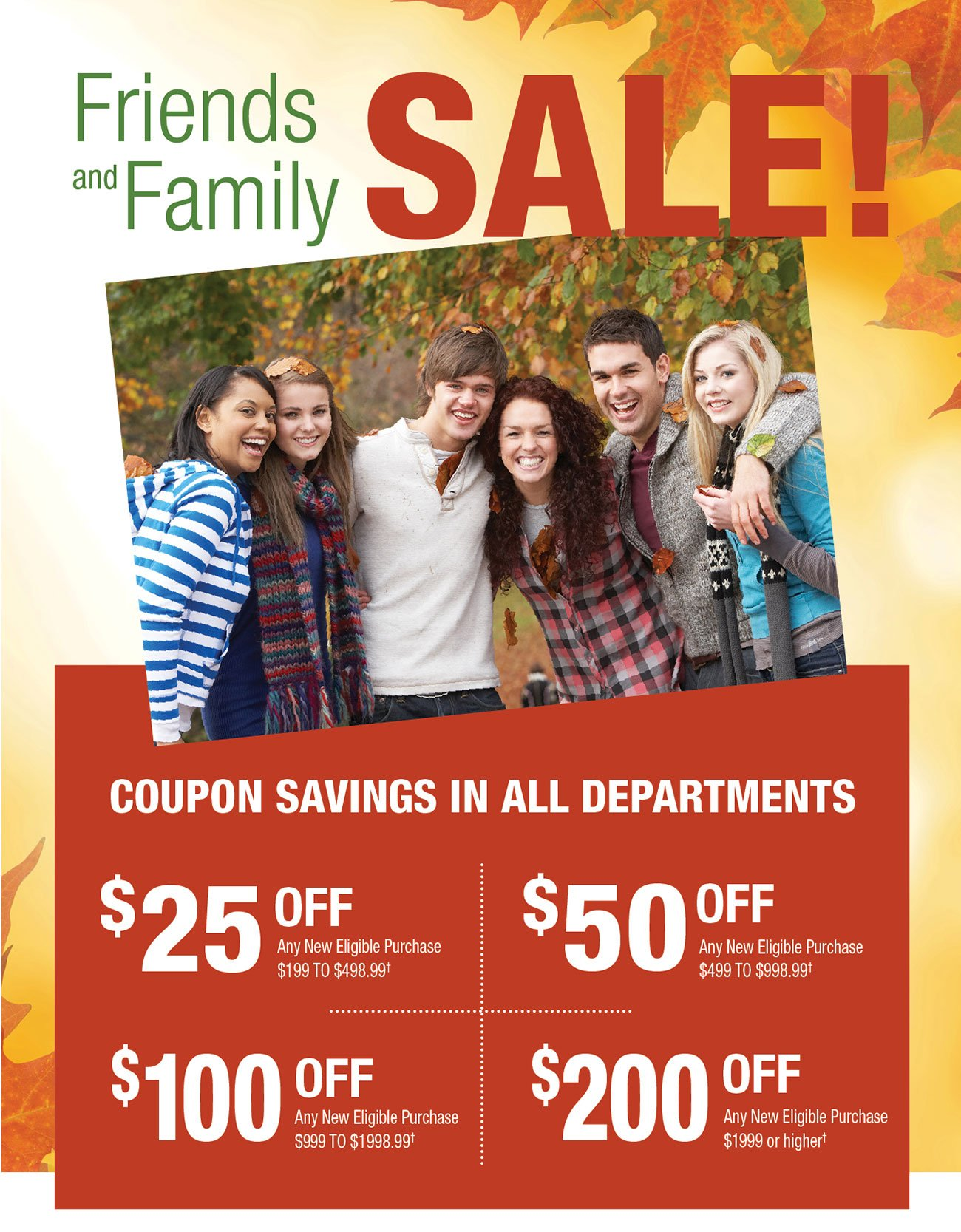 Friends-and-family-sale