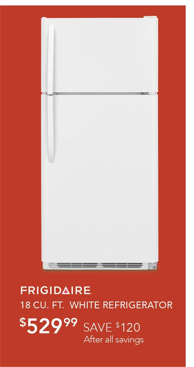Frigidaire-white-refrigerator