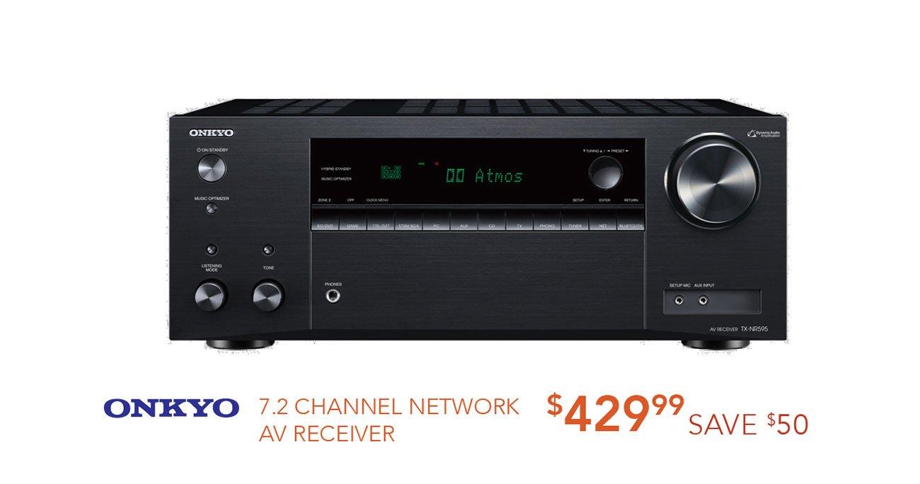 Onkyo-network-AV-receiver