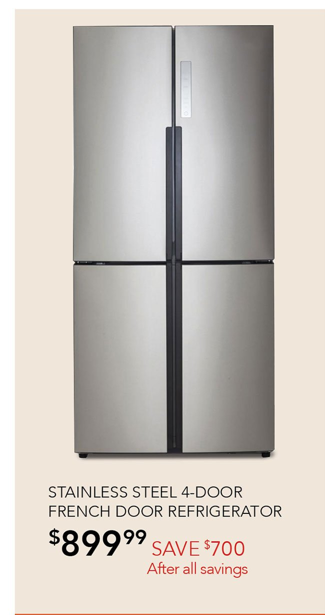 Stainless-steel-french-door-refrigerator