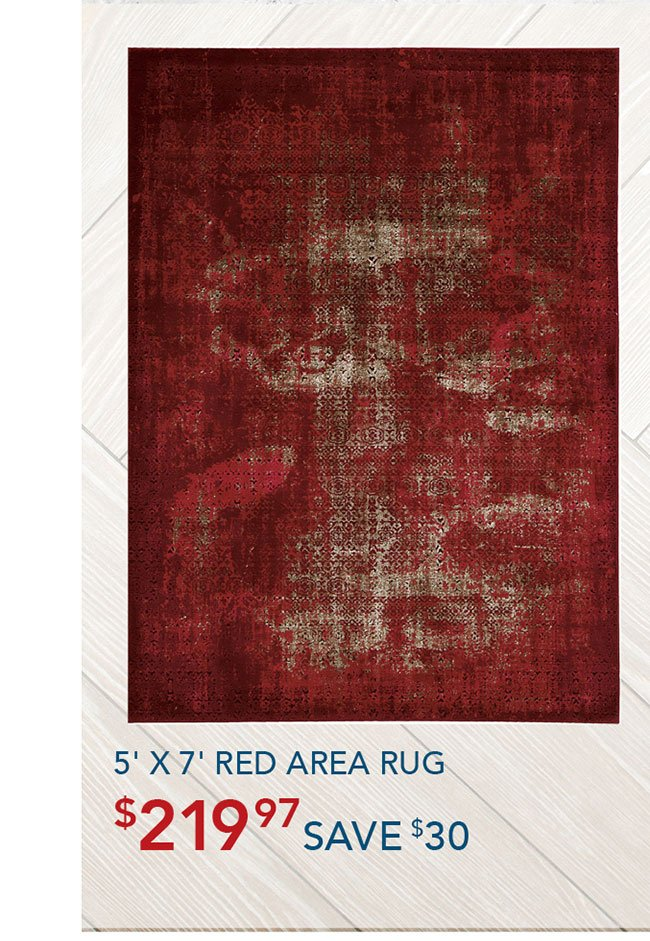 red-area-rug