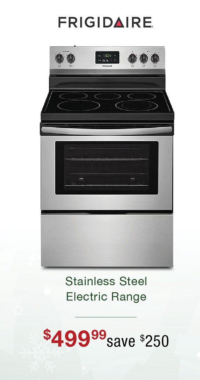 Frigidaire-stainless-electric-range