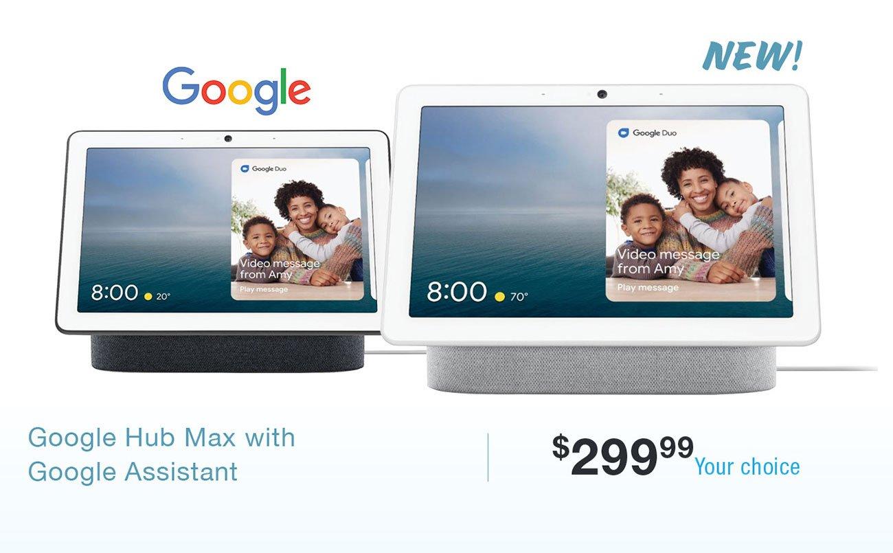 Google-hub-max