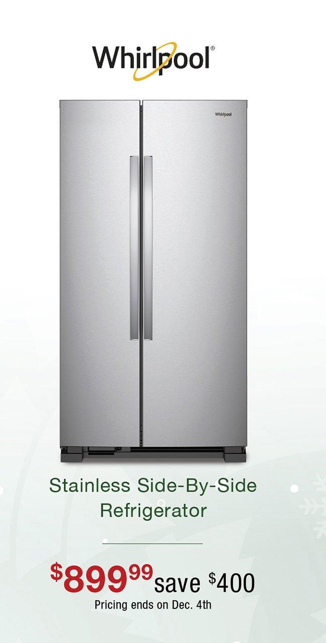 Whirlpool-stainless-refrigerator