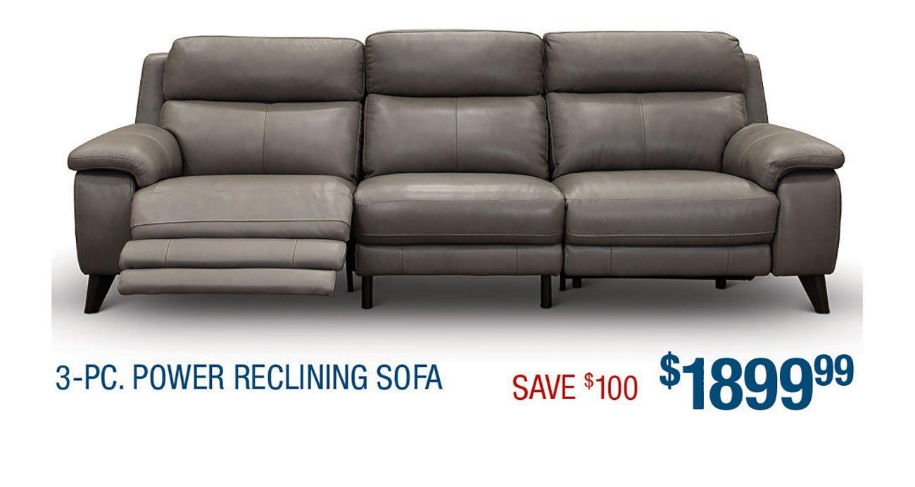 Power-Reclining-Gray-Sofa