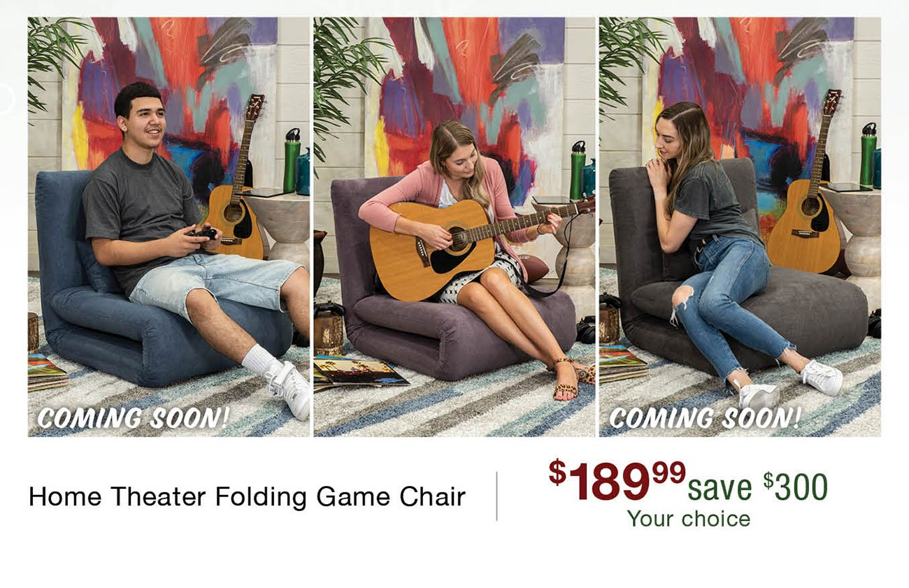 Home-theater-folding-game-chair