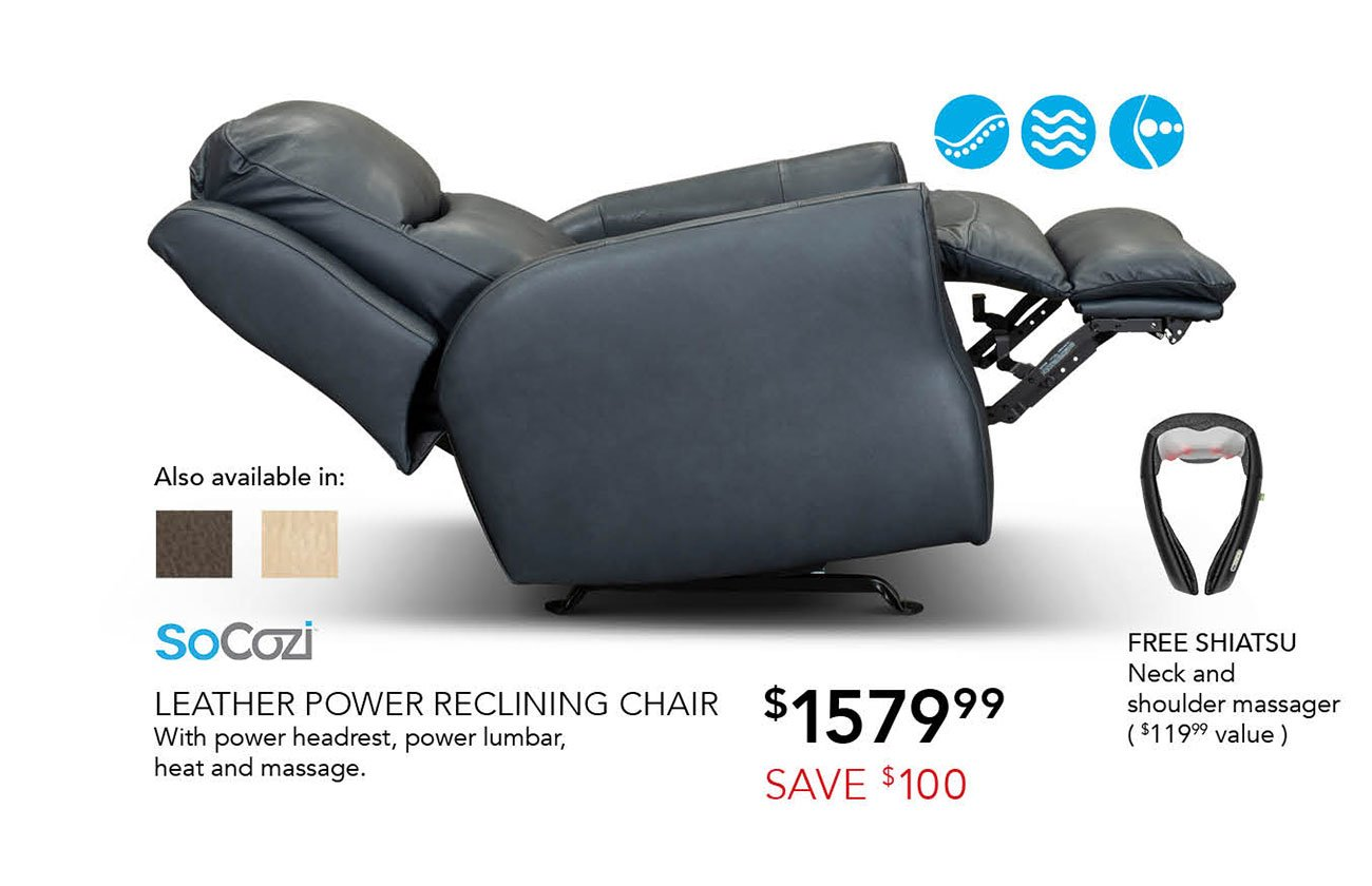 SoCozi power recliner