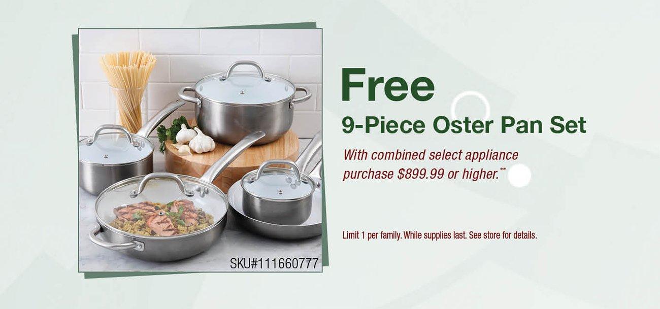 Free-oster-pan-set