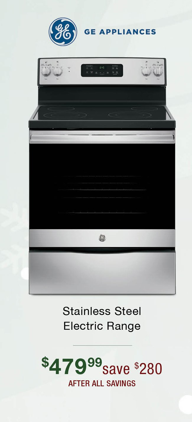 Ge-stainless-electric-range