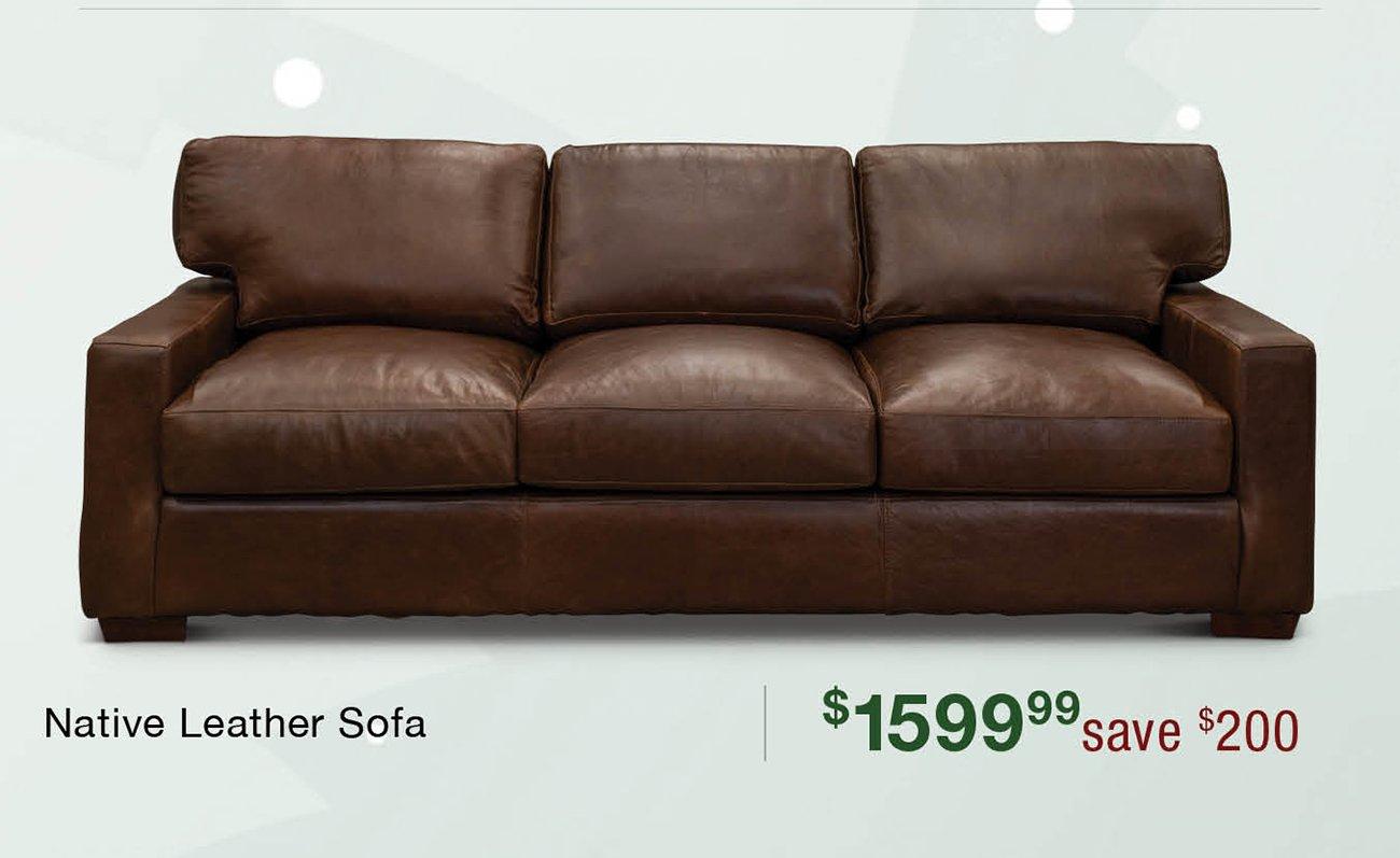 Native-leather-sofa