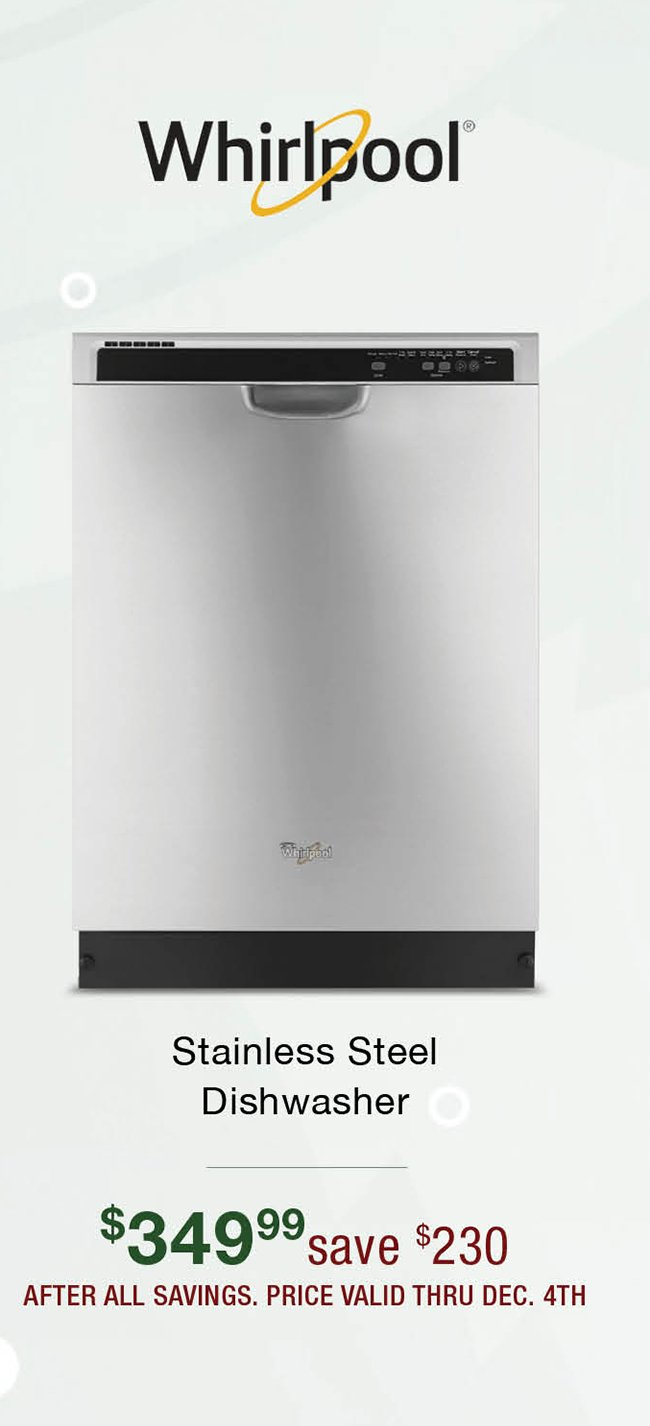 Whirlpool-stainless-dishwasher