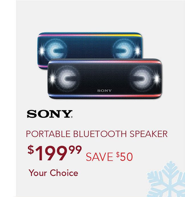 Sony-portable-bluetooth-speaker