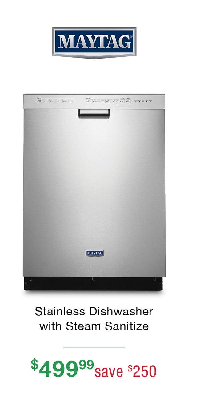 Maytag-stainless-dishwasher