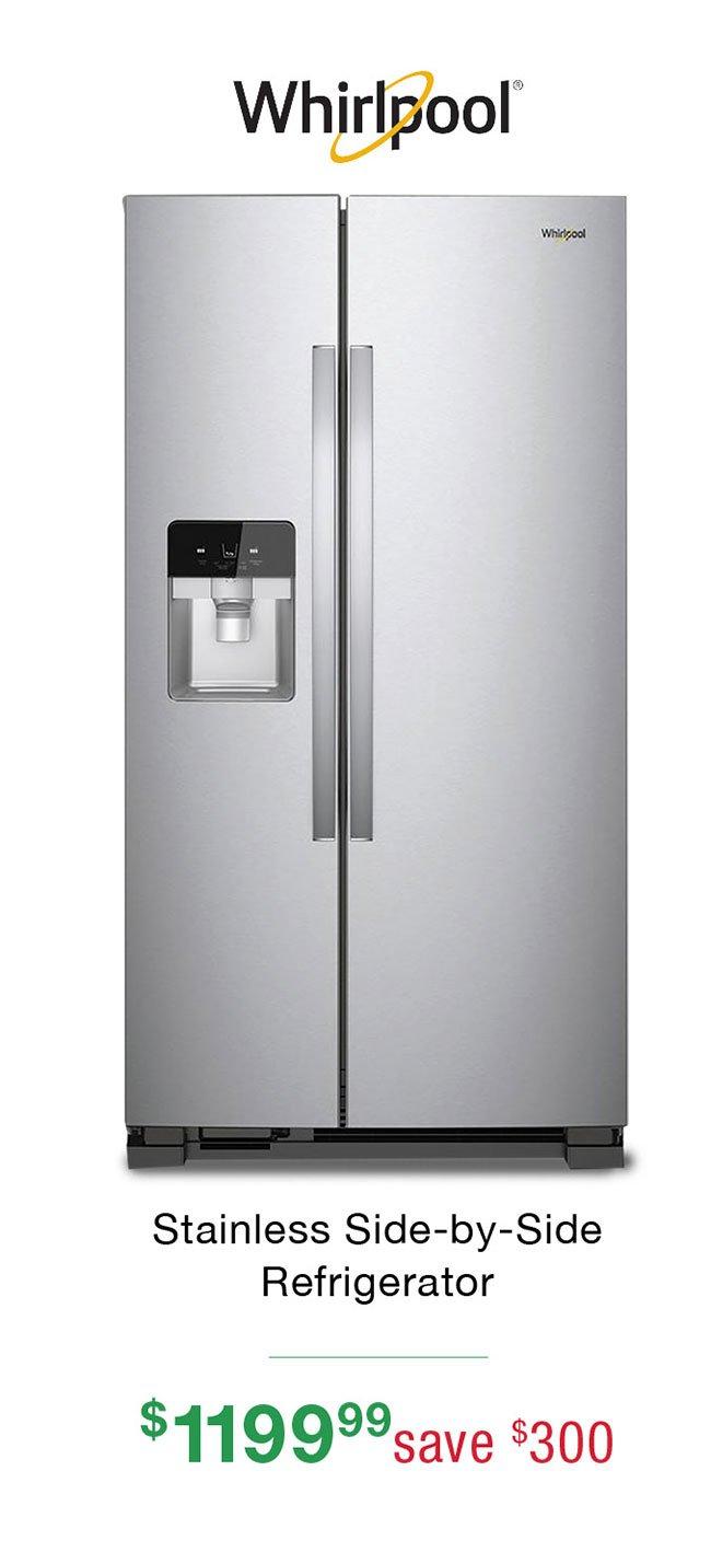 Whirlpool-side-by-side-refrigerator