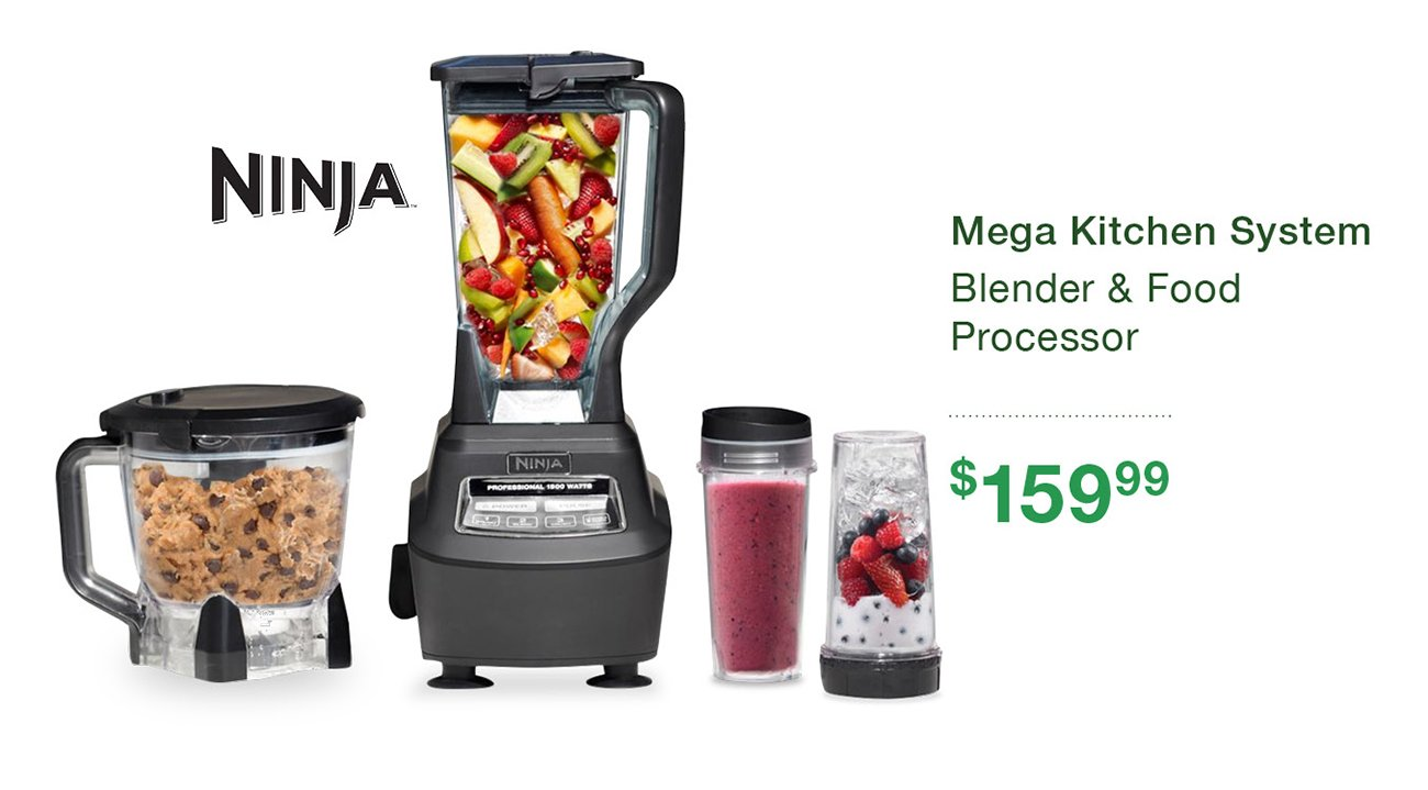 Nutri Ninja Blender and Food Processor | RC Willey Furniture ...