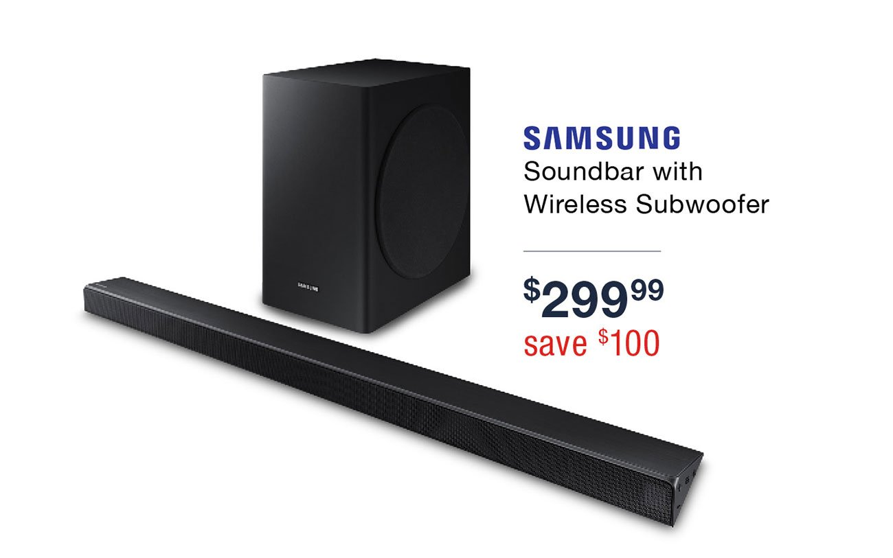 Samsung-soundbar-with-subwoofer