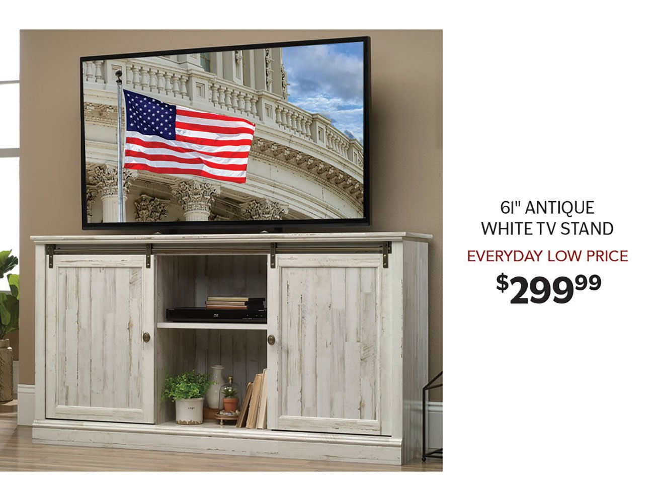 Antique-White-TV-Stand