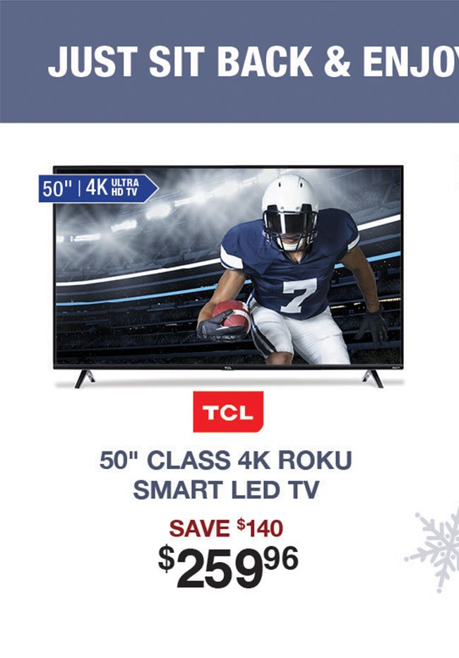 TCL-50-4K-ROKU-LED-TV-UIRV