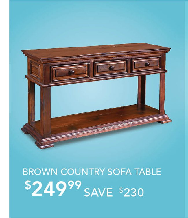 Brown-country-sofa-table