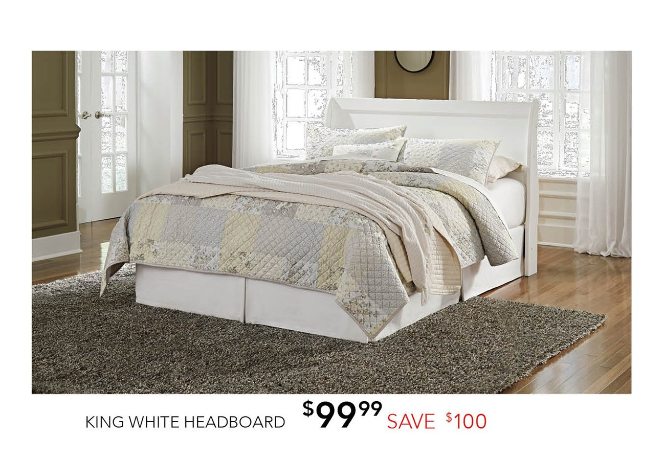 King-white-headboard