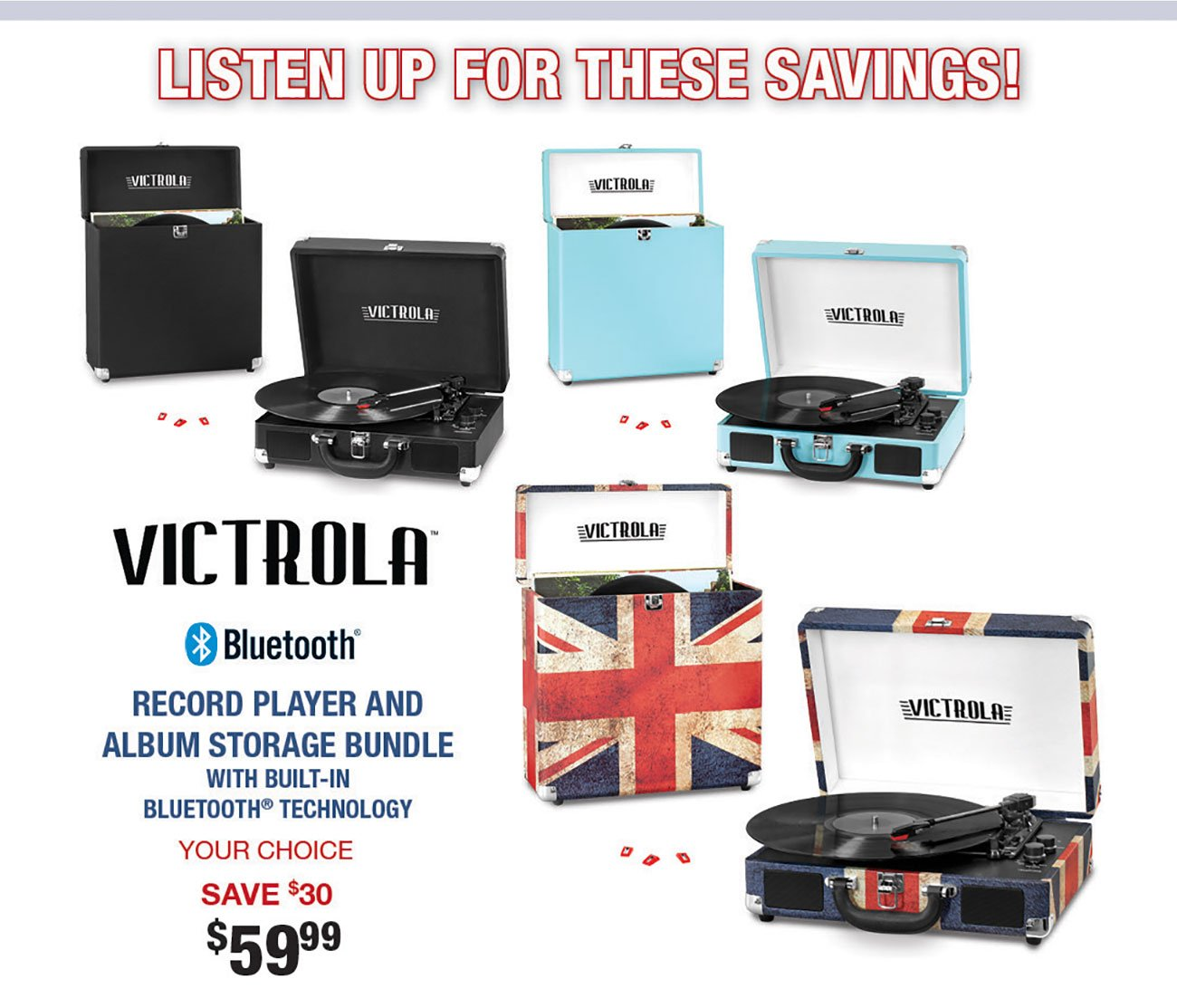 Victrola-Record-Player-Bundles